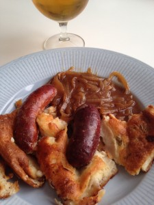 Toad in the hole_tallrik